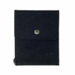 Кожаный зажим для денег One (black)